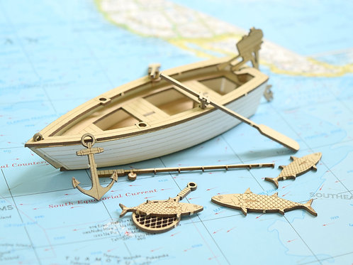 Fishing Boat - Model Kit