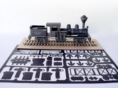Steam Train - Model Kit
