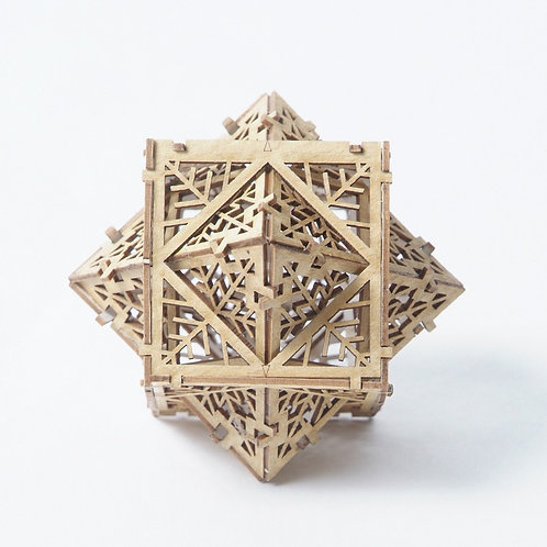 Cube Octahedron Dual - Model Kit