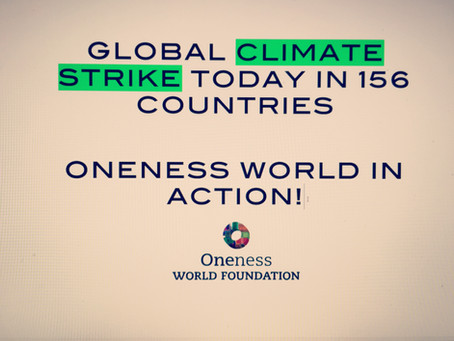 GLOBAL CLIMATE STRIKE TODAY IN 156 COUNTRIES