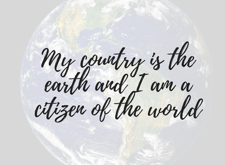 You are a Citizen of the World