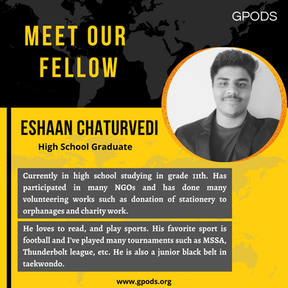 Eshaan Chaturvedi