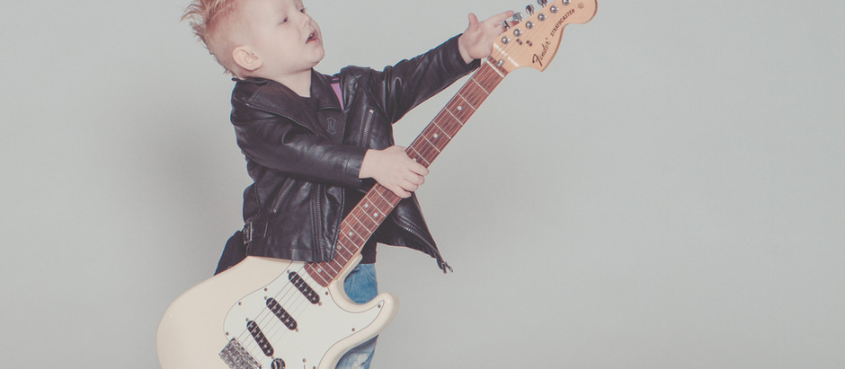 Kids and Guitar Lessons Pt 2 - How Young Is Too Young?