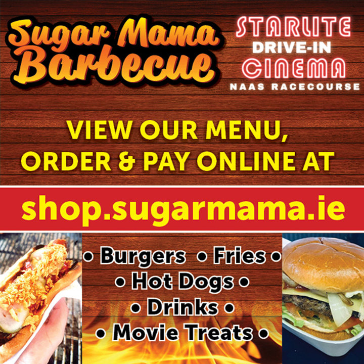 Sugar Mama Starlite Drive in advert 600