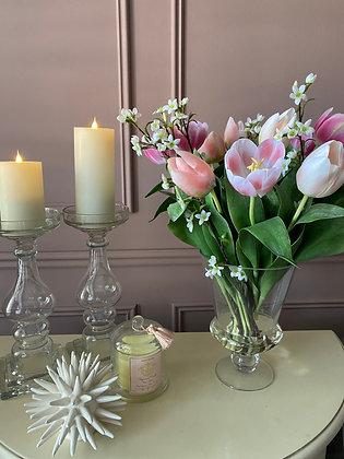 Spring Pink Tulips