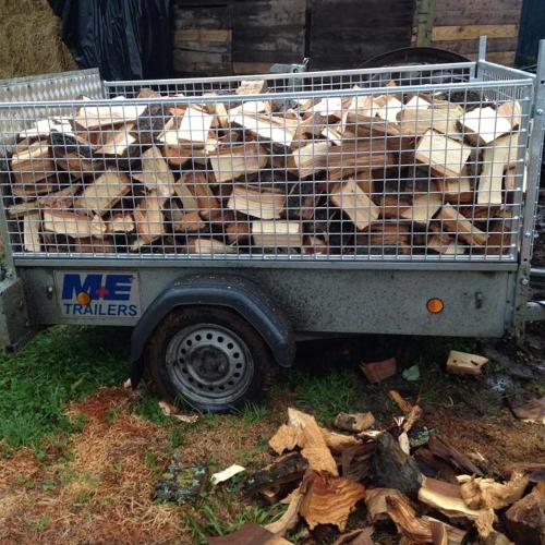 firewood trailer