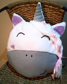 Handmade Unicorn Cushion