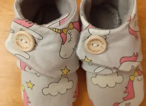 Handmade Unicorn Baby/Toddler Booties