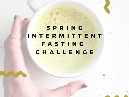 Spring Intermittent Fasting Challenge GRAND PRIZE Submission Deets!