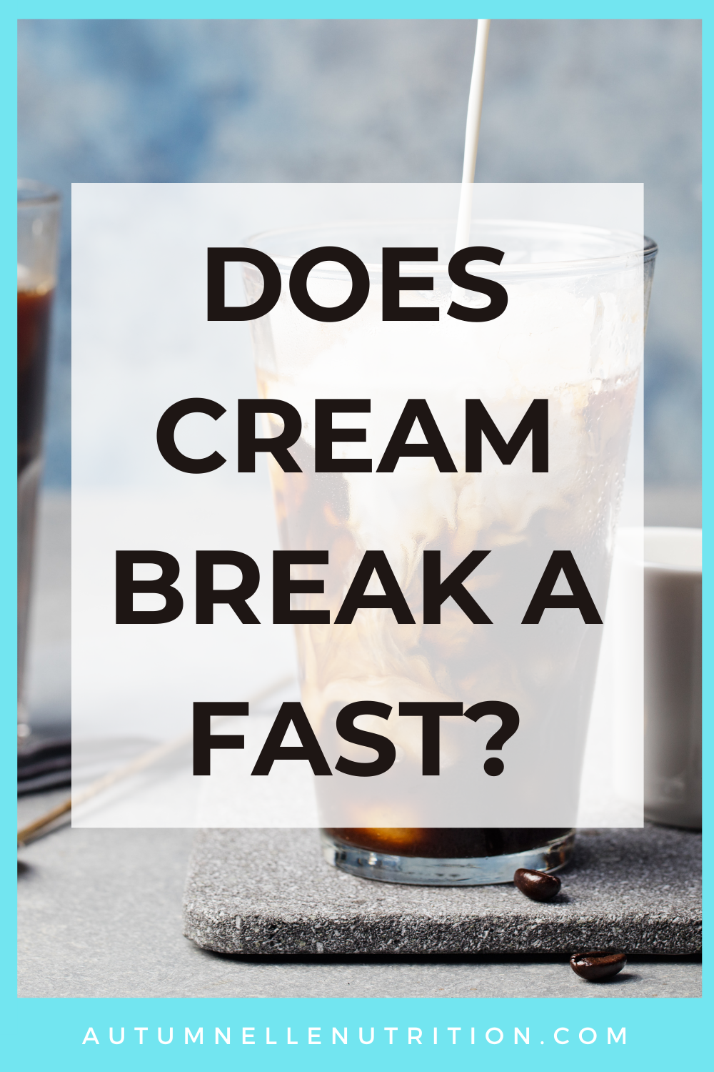 Does Heavy Cream Break A Fast?