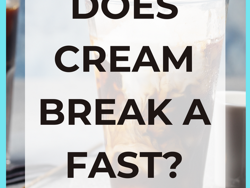Does Heavy Cream Break a Fast? [Intermittent Fasting Tips]