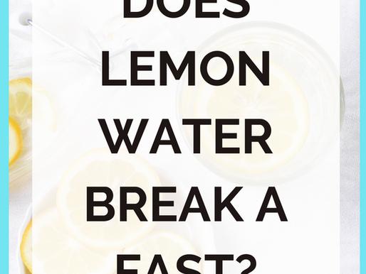 Can You Drink Lemon Water While Fasting? [The Fat Burning TRUTH]