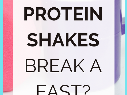 Should You ACTUALLY Break Your Fast With A Protein Shake? [Fasting Do's and Don'ts]
