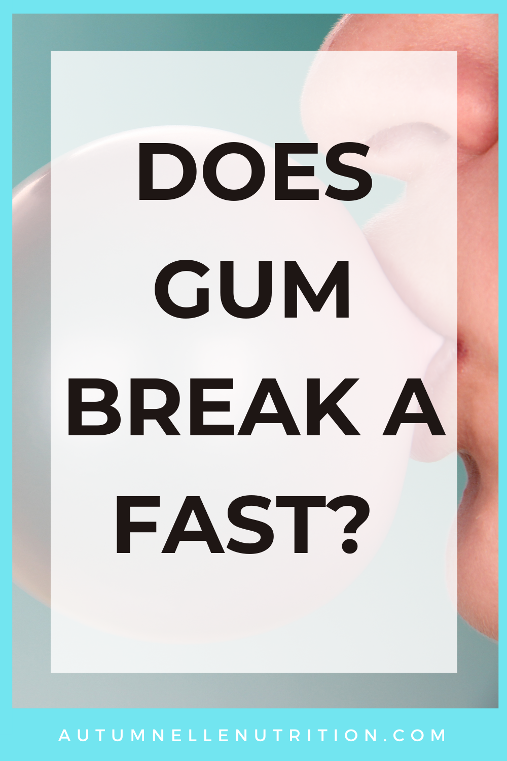 Does Gum Break a Fast?