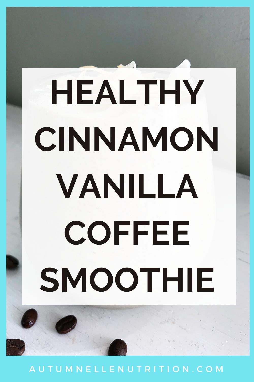 healthy coffee smoothie recipe