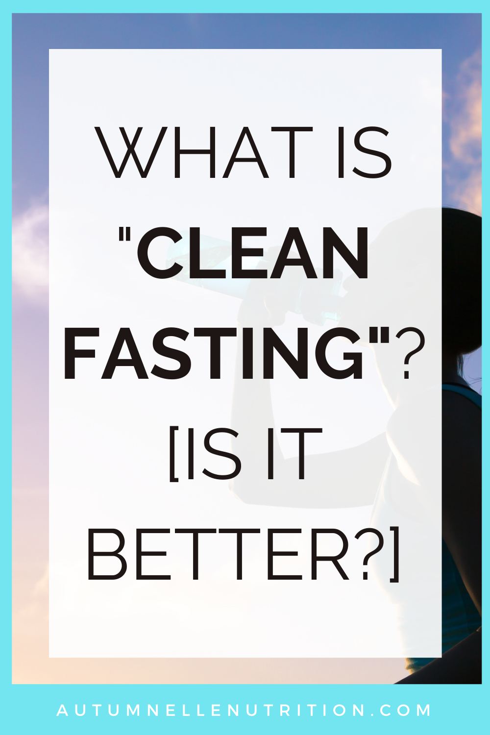 dirty fasting
