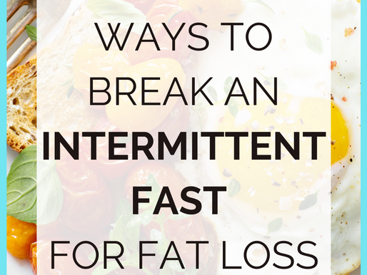 How To Break An Intermittent Fast For BEST Fat Loss [Eggs, Oats and Smoothies]