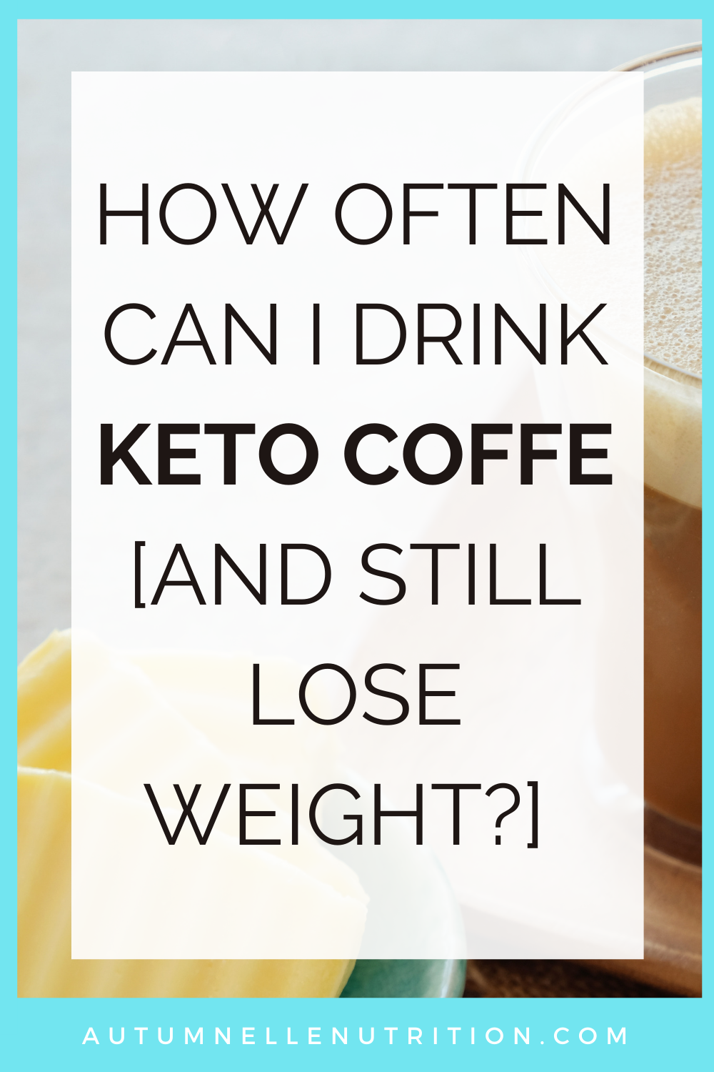How Many Times A Day Can You Drink Keto Coffee