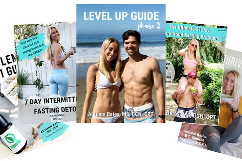Complete Intermittent Fasting Bundle + Supplement Guide!