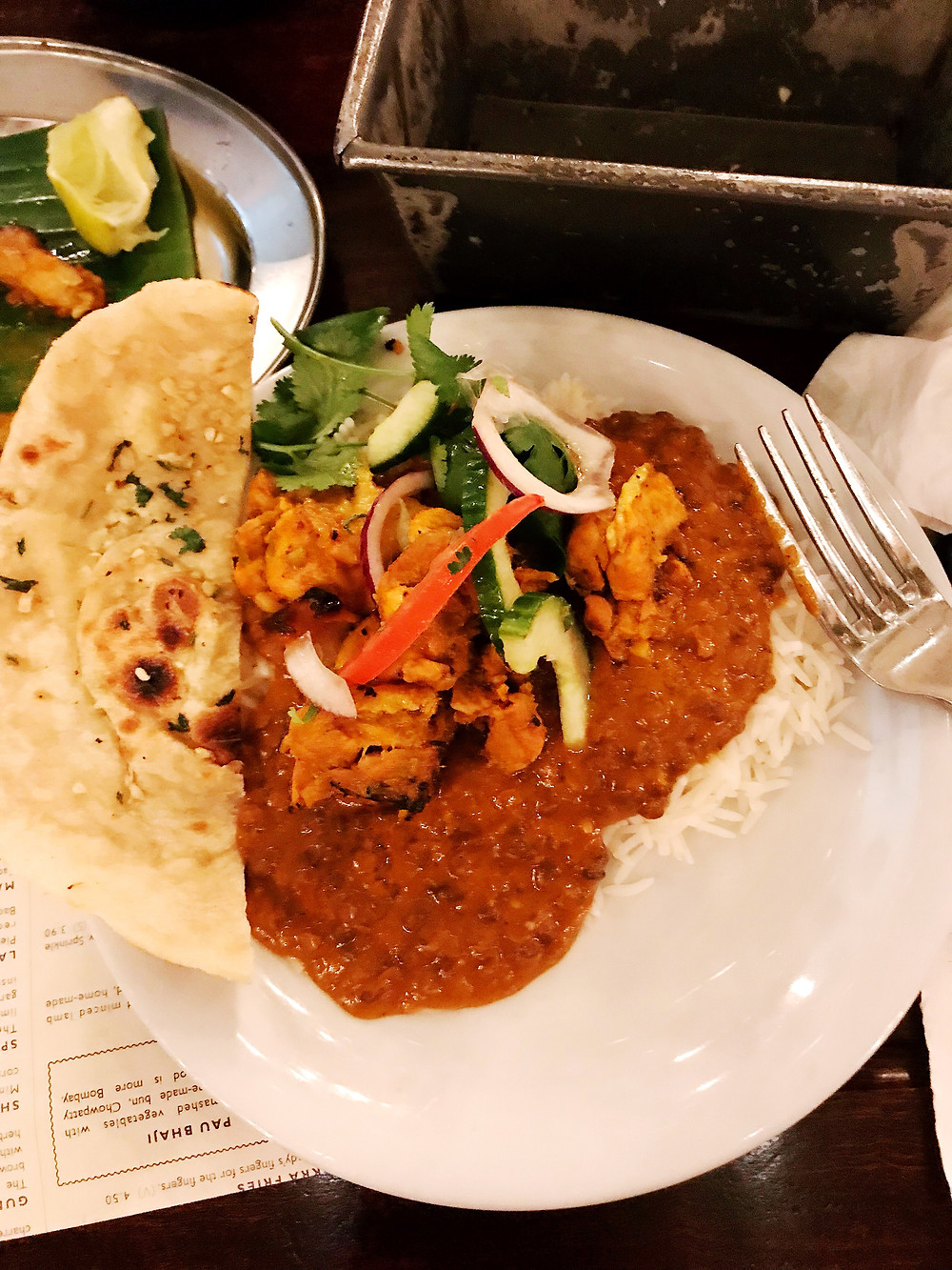 healthy London travel restaurants - dishoom
