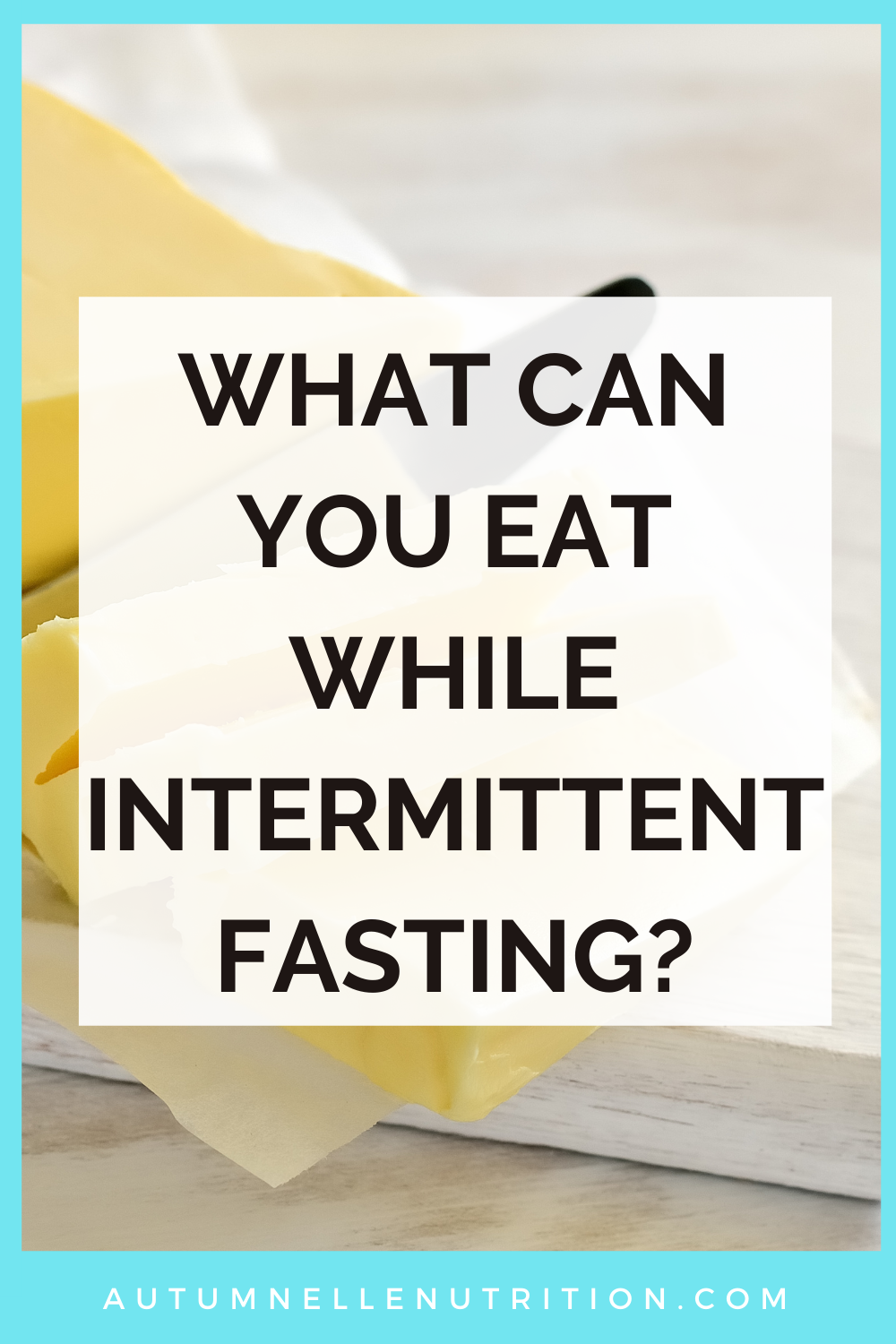 what can you eat while fasting