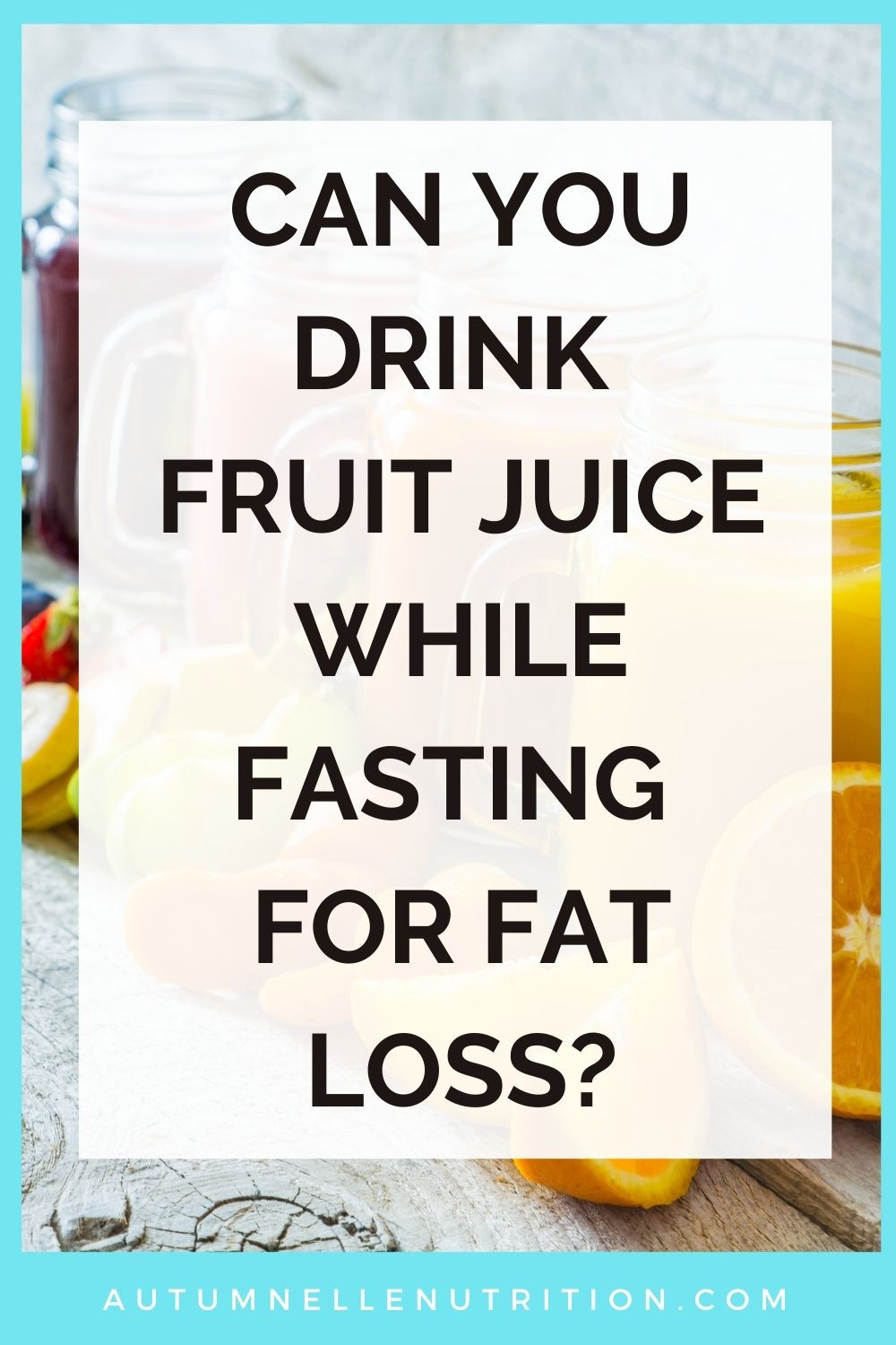 Liquids To Drink While Fasting
