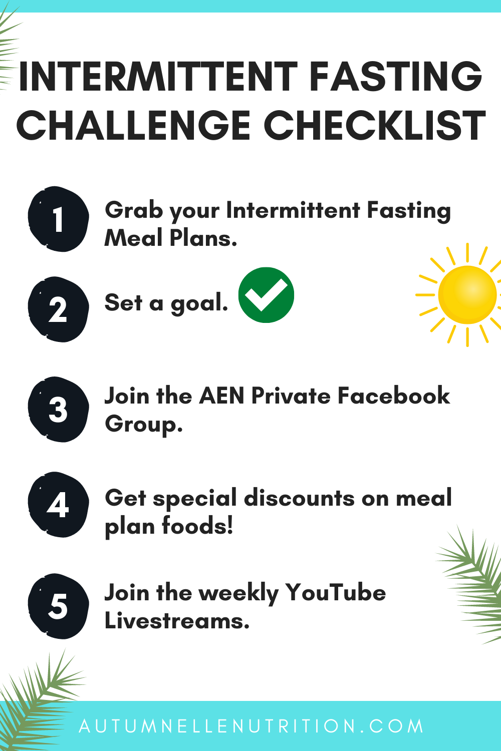 intermittent fasting meal plan for women