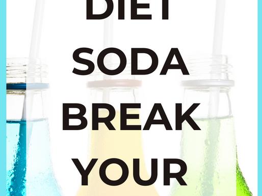 Does Diet Soda Break a Fast? [Simple Explanation]