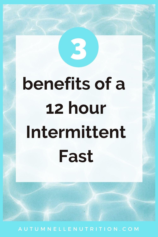 12 hour intermittent fast