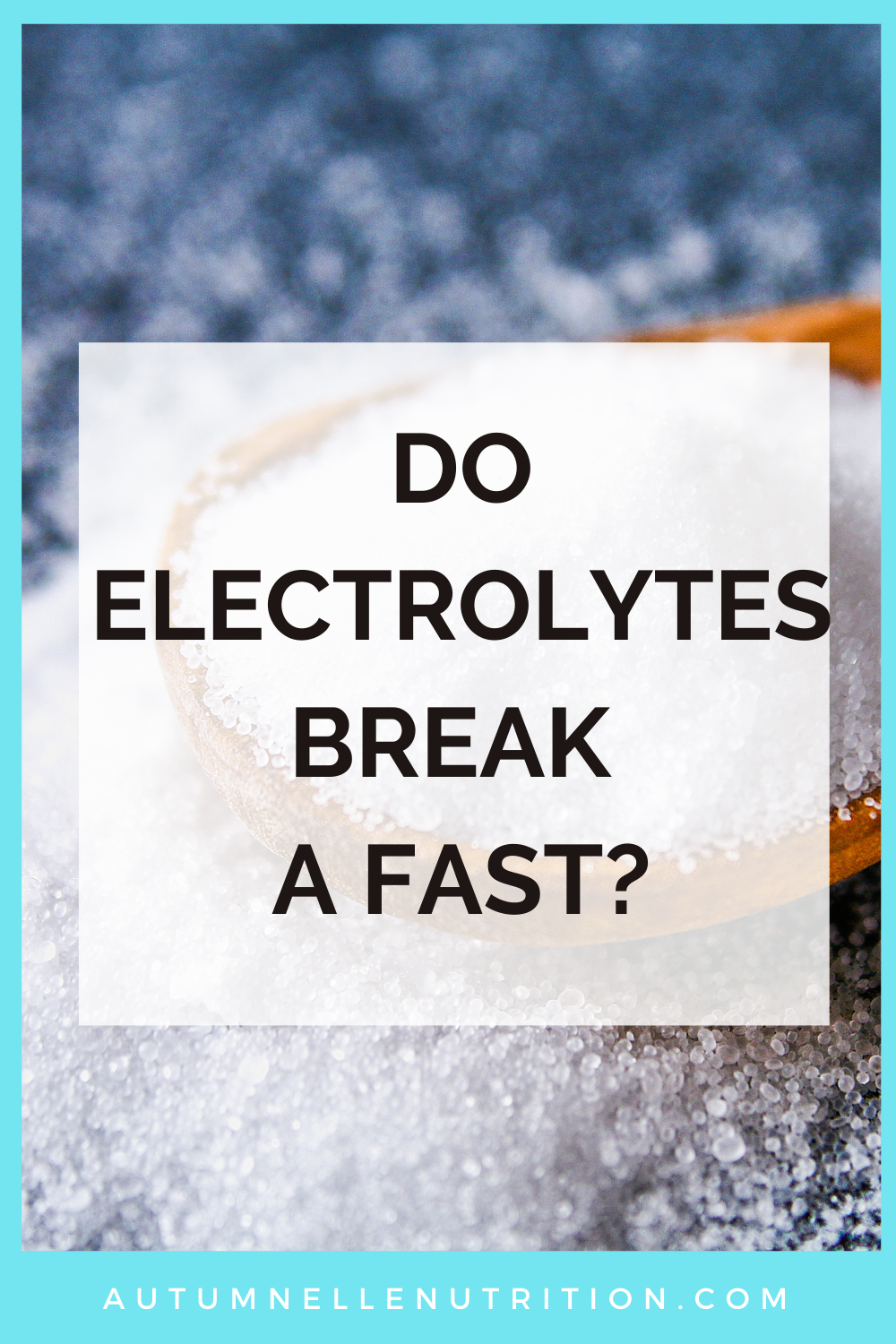 intermittent fasting and electrolytes