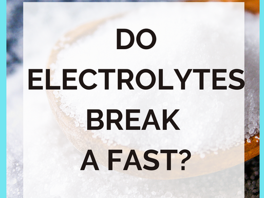 Intermittent Fasting and Electrolytes [Benefits/Do You NEED Them?]