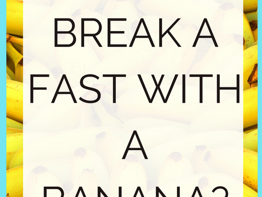 Is It Okay To Break A Fast With A Banana? [Intermittent Fasting Tips]