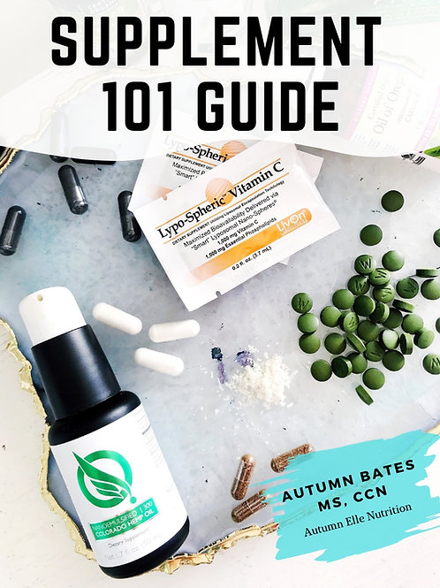 Supplements 101 Guide
