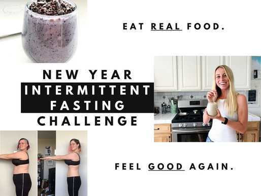 Your New Year Intermittent Fasting Challenge Checklist!