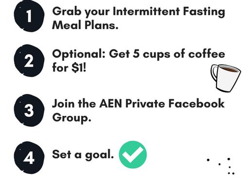 Your Spring Intermittent Fasting Challenge Checklist!