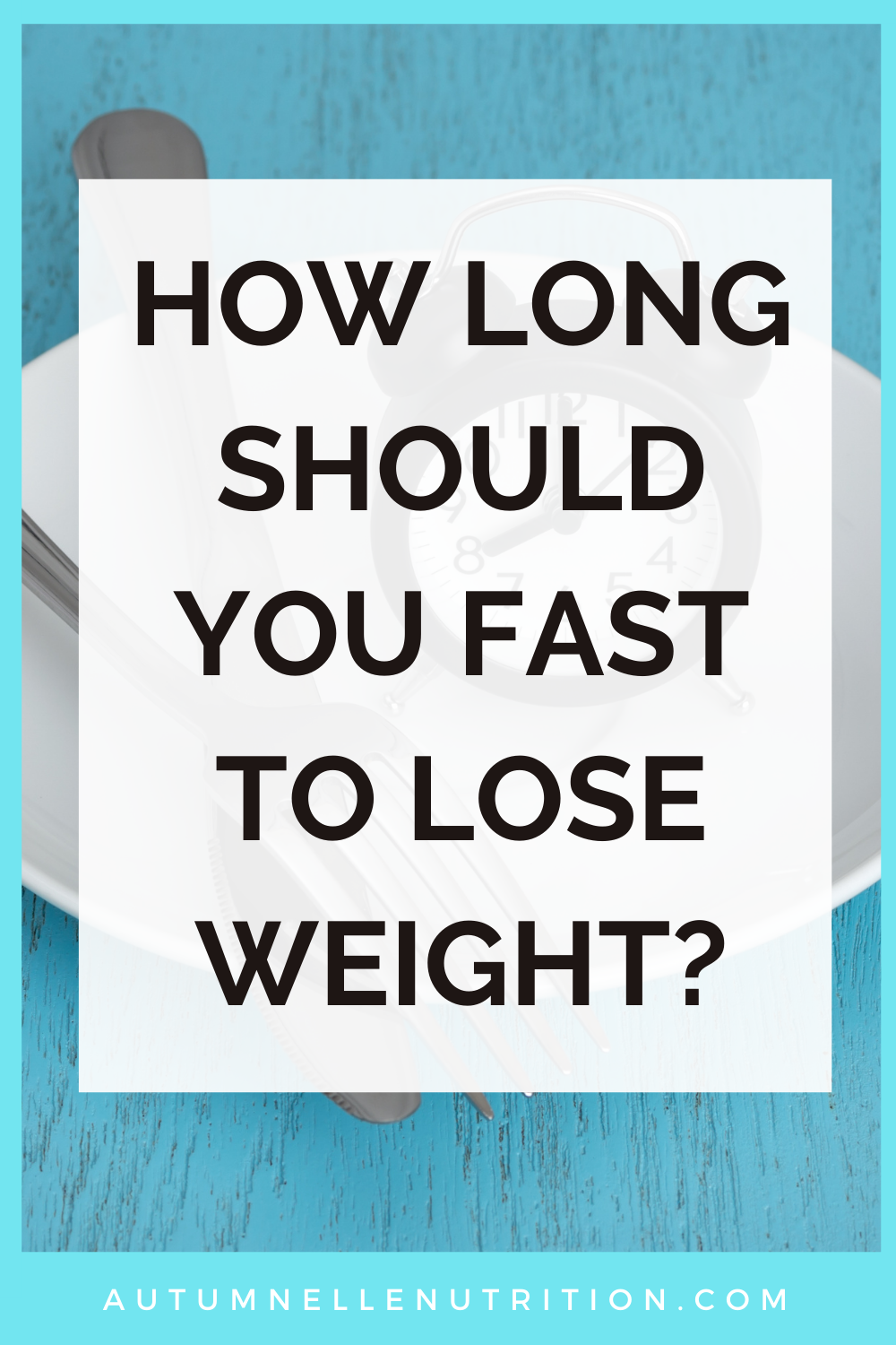is fasting good for weight loss
