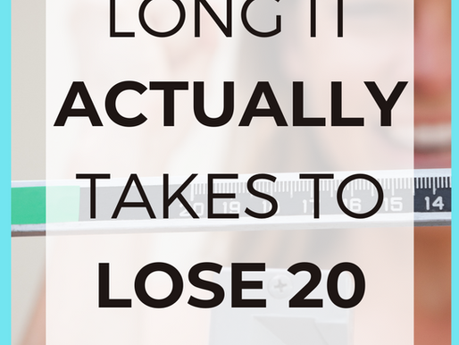 How Long Should It Take To Lose 20 Pounds?