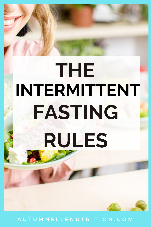 How Do You DO Intermittent Fasting?