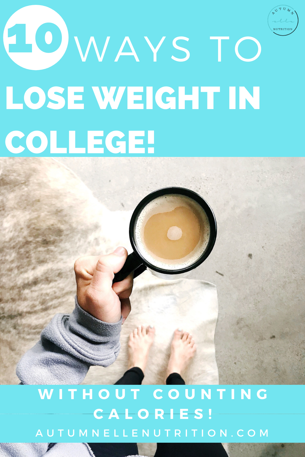 how to lose weight in college