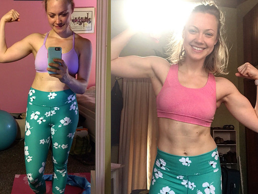 How Sierra is Eating MORE, Working Out LESS and FINALLY Seeing Results!