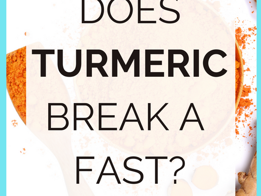 Does Turmeric Break A Fast? [Simple Explanation!]