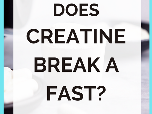 Does Creatine Break a Fast? [Creatine Supplements and Intermittent Fasting]