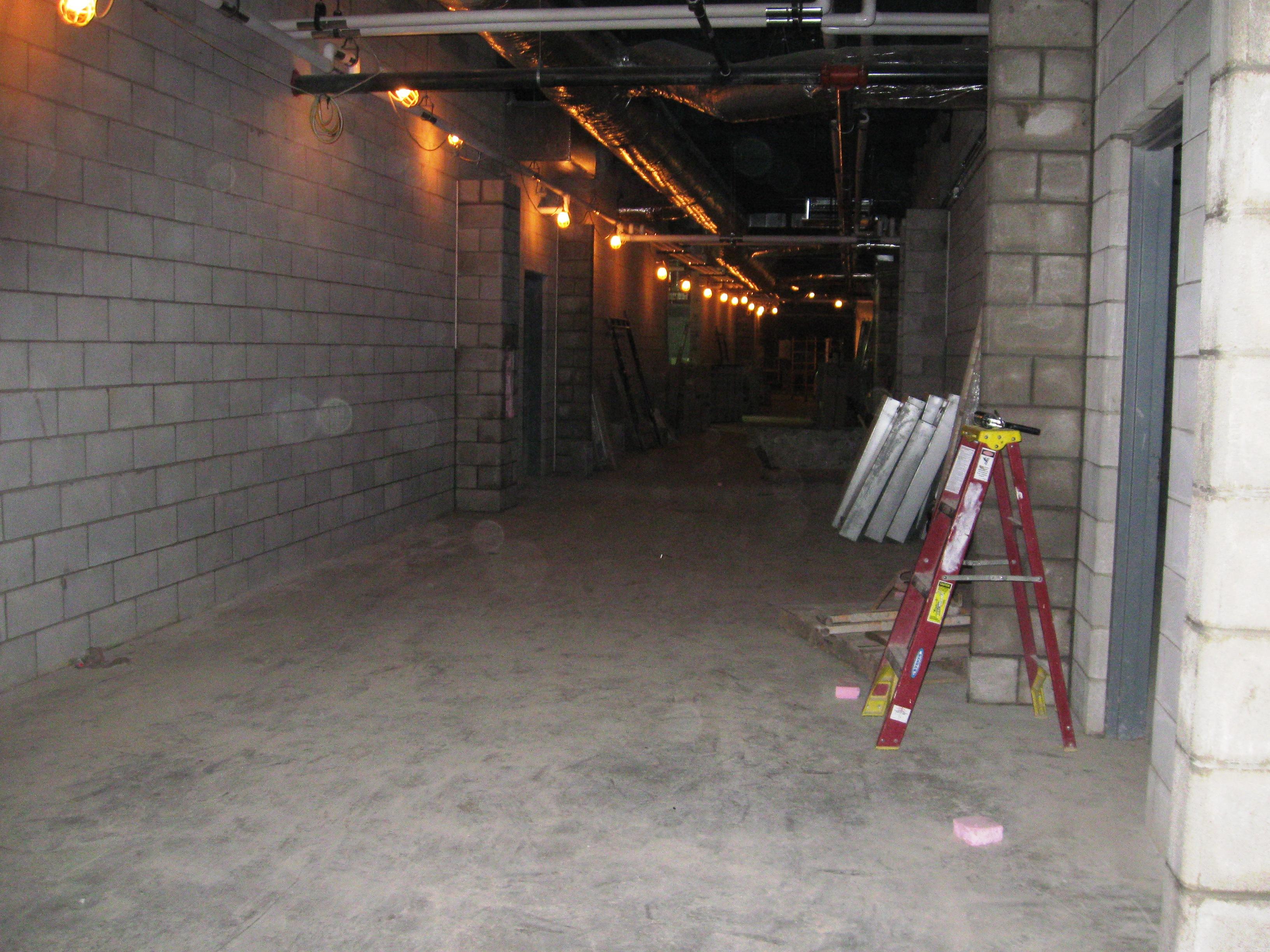 Academic Hallway