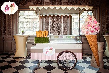 Тележка с мороженым на мероприятие