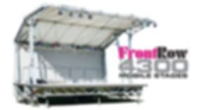 FrontRow 4300 Mobile Bandstand Stages