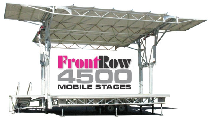 FrontRow 4500 Mobile Concert Stages