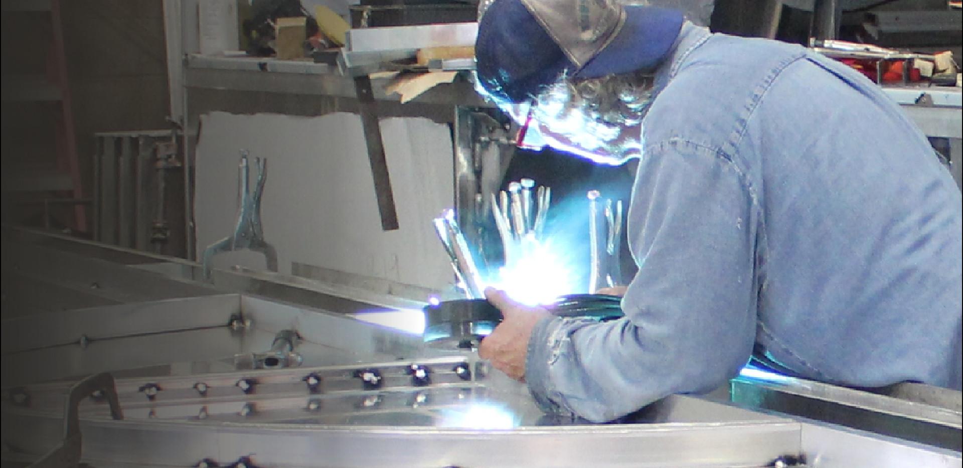 Welded Aluminum Construction
