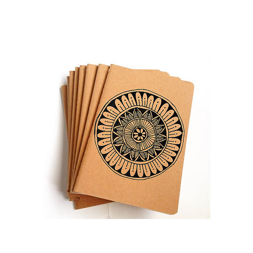 Meditate Mandala Pen Doodle Notebook