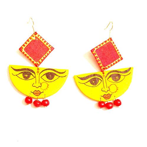 Karuna Handpainted Earrings