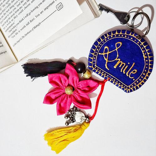 Bahaar Handpainted Key Chain